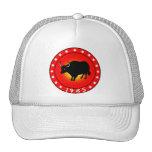 Año del buey 1985 gorras