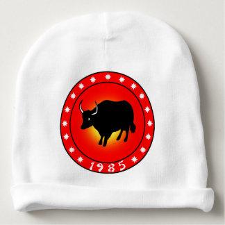 Año del buey 1985 gorrito para bebe
