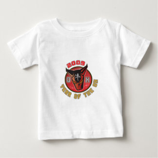 Año del buey - 2009 playera de bebé