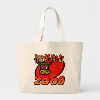 Año del buey bolsas