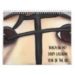 Año del buey, casa de planta baja Art2009 Calendar Calendarios