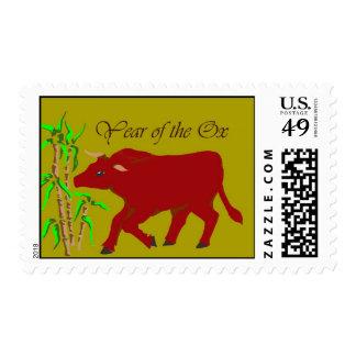 Año del buey sello