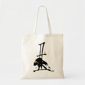 Año del buey - zodiaco chino bolsa tela barata