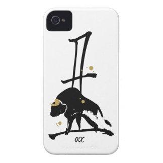 Año del buey - zodiaco chino Case-Mate iPhone 4 protectores