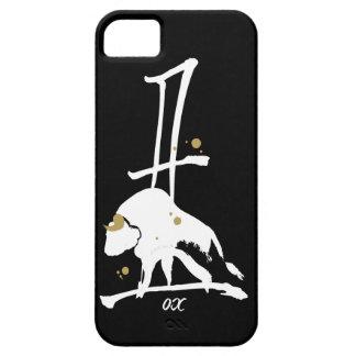 Año del buey - zodiaco chino iPhone 5 fundas