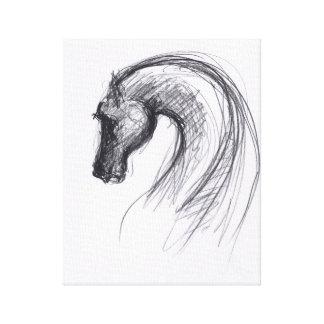 Año del caballo 1 - impresión de la lona impresiones en lona