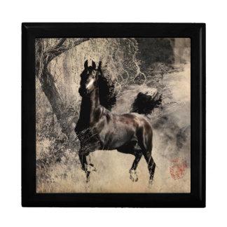 Año del caballo 2014 - arte de la pintura china cajas de joyas
