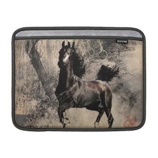 Año del caballo 2014 - arte de la pintura china funda macbook air