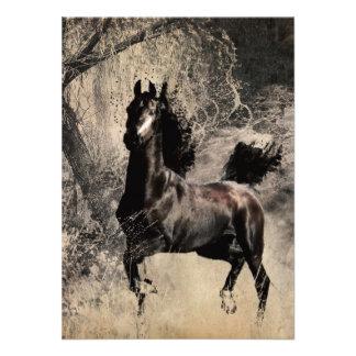Año del caballo 2014 - arte de la pintura china anuncios personalizados