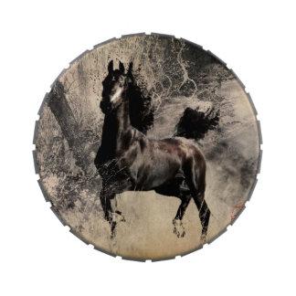 Año del caballo 2014 - arte de la pintura china jarrones de dulces