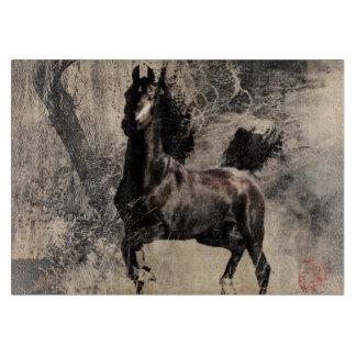 Año del caballo 2014 - arte de la pintura china tabla de cortar