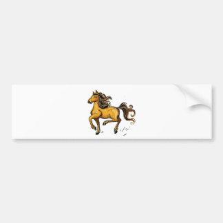 Año del caballo 2014 pegatina para auto