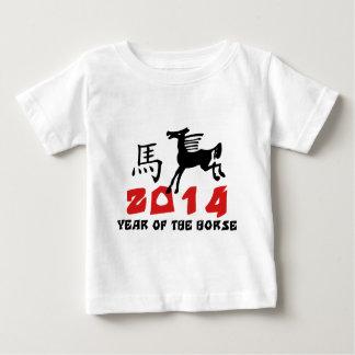 Año del caballo 2014 playera de bebé