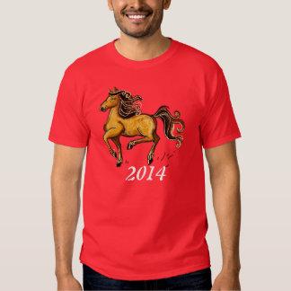 Año del caballo 2014 remeras