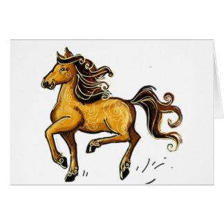 Año del caballo 2014 tarjeta de felicitación