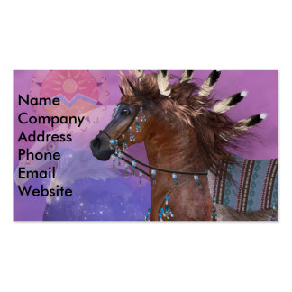 Año del caballo de Eagle Tarjetas De Visita