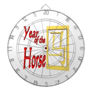 Año del caballo tablero dardos