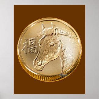 Año del caballo poster