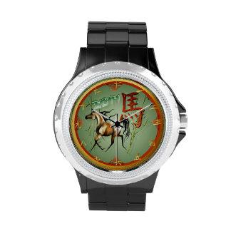 Año del caballo relojes de mano
