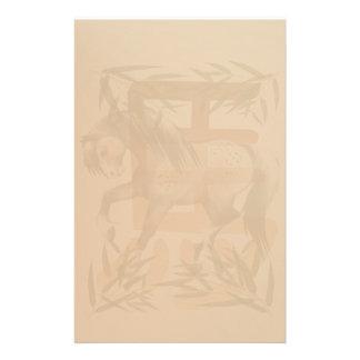 Año del caballo stationery_vertical.v2. papeleria personalizada