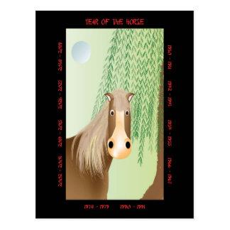 Año del caballo postales