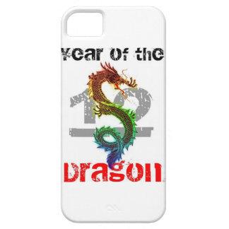 Año del caso 2012 del iPhone 5 del dragón Funda Para iPhone SE/5/5s