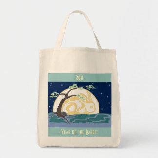 Año del conejo, 2011 bolsa tela para la compra