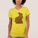 """Año del conejo 2011 """"chocolate """" camisetas"""