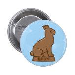"""Año del conejo 2011 """"chocolate """" pins"""
