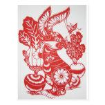 Año del conejo 2011 postal