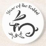Año del conejo - Año Nuevo lunar chino Posavasos Personalizados