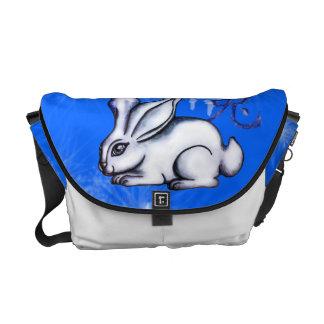 Año del conejo bolsa messenger