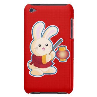 Año del conejo barely there iPod coberturas