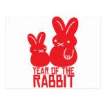 Año del conejo postal