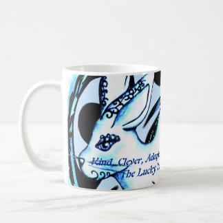 Año del conejo taza de café