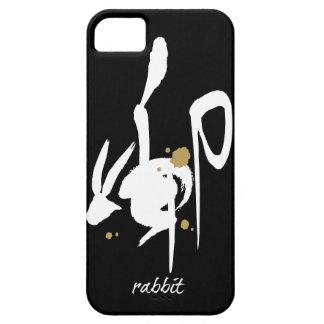 Año del conejo - zodiaco chino iPhone 5 Case-Mate carcasas