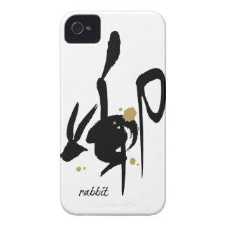 Año del conejo - zodiaco chino iPhone 4 cárcasas