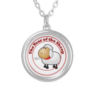 Año del dibujo animado de las ovejas colgantes personalizados