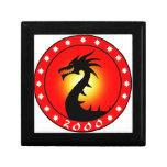 Año del dragón 2000 caja de regalo