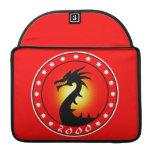 Año del dragón 2000 fundas para macbook pro