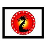 Año del dragón 2000 postales