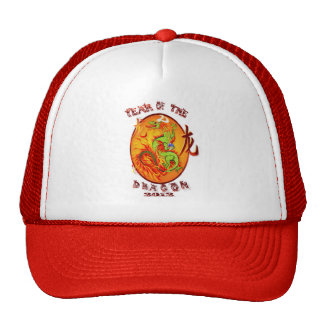 Año del Dragon-2012 HatsOval Gorra