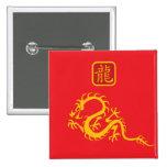 Año del dragón 2012 pins