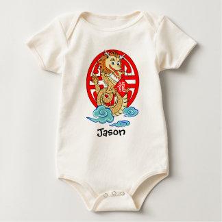 Año del dragón body para bebé
