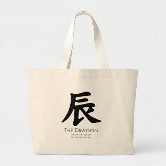 Año del dragón bolsas