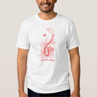 Año del dragón camisas