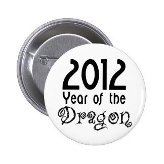 Año del dragón pin