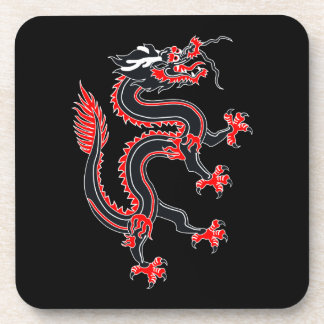 Año del dragón posavasos de bebidas