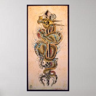 Año del dragón poster