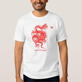 Año del dragón remera